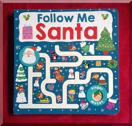 Book cover of Follow me Santa