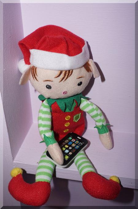 Tinkles calling Santa?