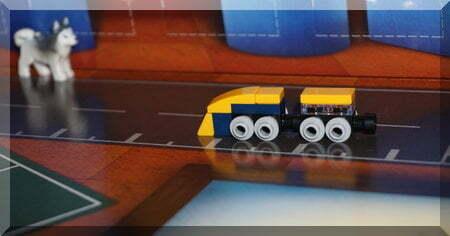 Lego bullet train