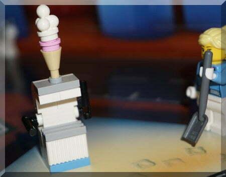 Lego ice-cream stand