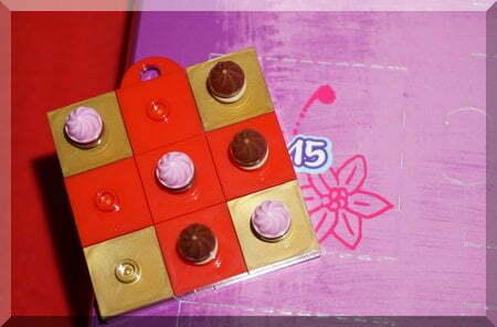 Lego cupcake platter checkboard