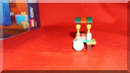 Lego cake trolley