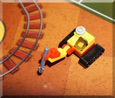 Lego digging machine