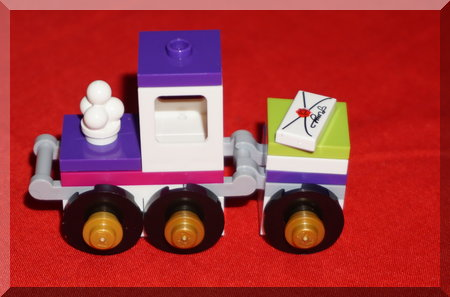 Lego Friends train