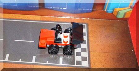 Lego racing car