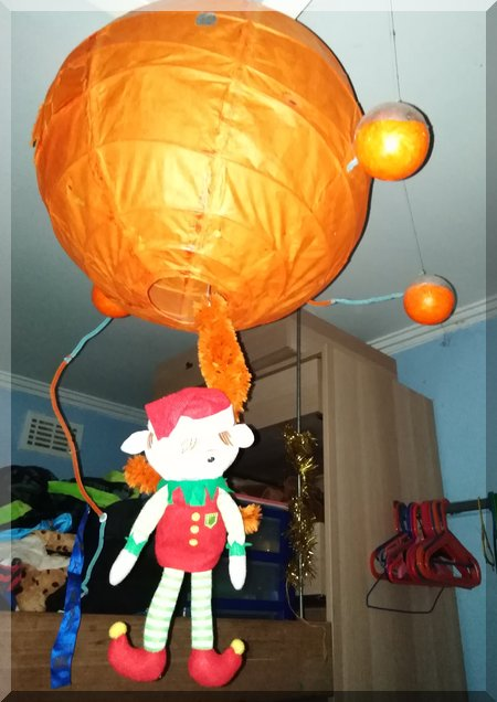 Tinkles the elf and the Octopod