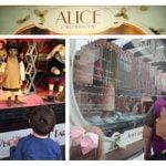Myer window - Alice in Wonderland