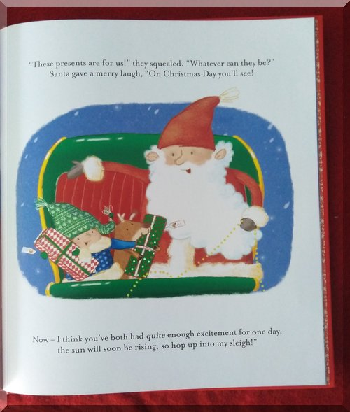 Inner pages of Baby Santa