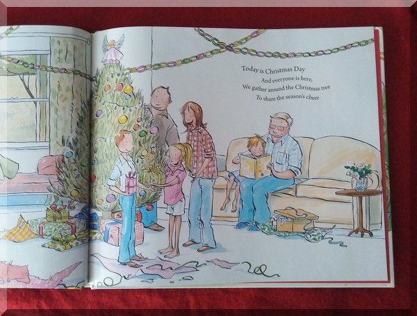 Inside pages of Christmas at Grandad's farm