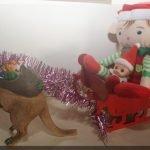 Elves in a sleigh!