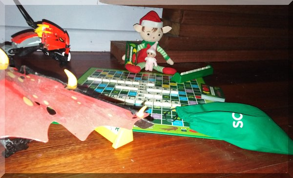 Christmas Elf Aussie Scrabble!