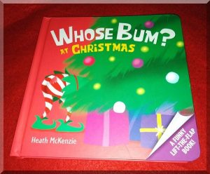 Cover of whose bum at Christmas