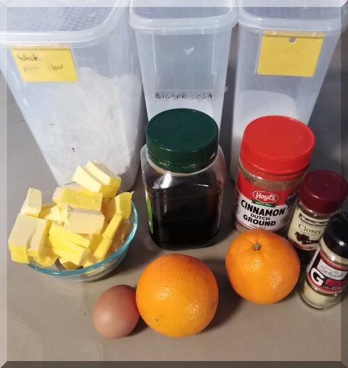 Pepparkakor ingredients