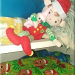 A cosy elf hiding spot!