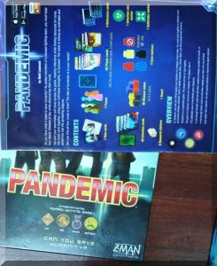 box for the Pandemic board game