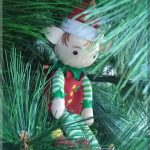 And an elf in a Christmas tree...